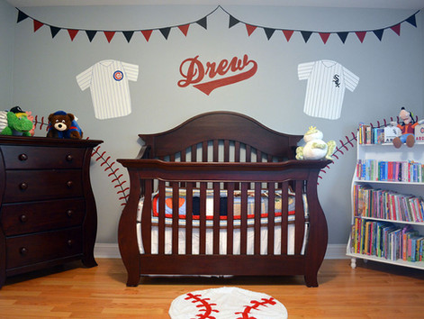 Chicago Sports Theme Nursery