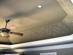 Tray Ceiling Stencil