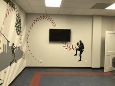 D-Bat Baseball Training Facility Party Room