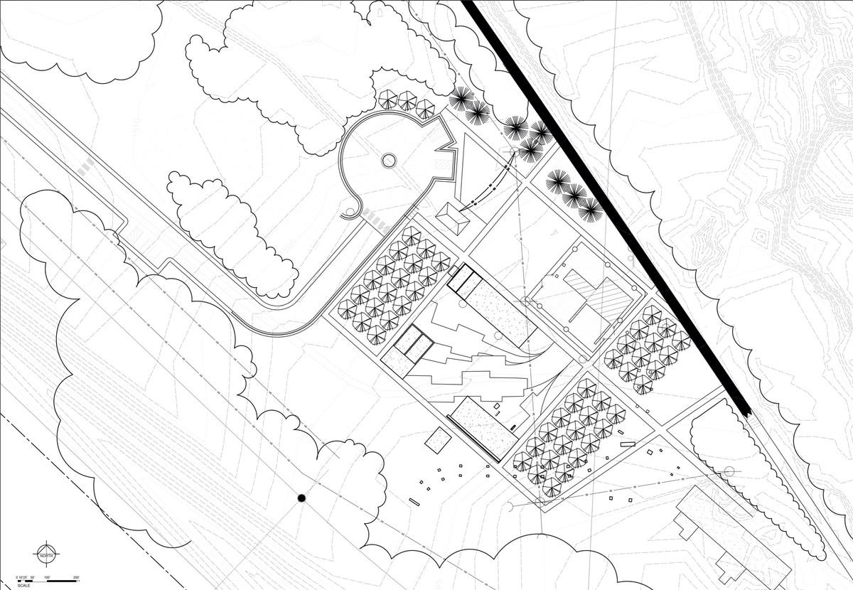 Bruce Mine Headframe Site Concept