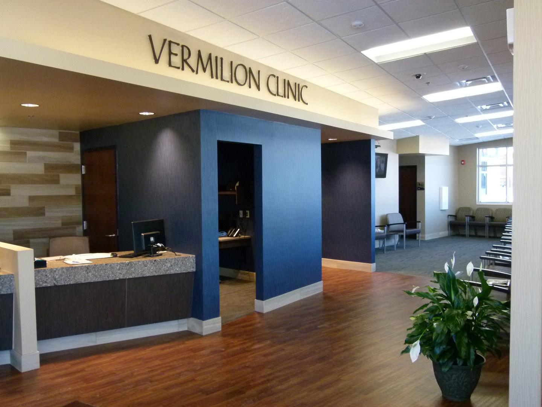 Vermilion Clinic Reception