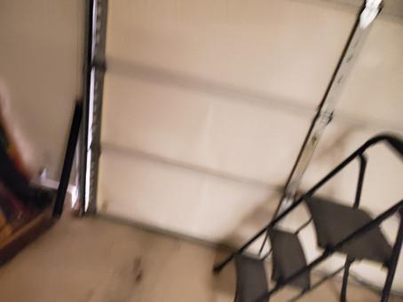 Garage Door Crashed Down