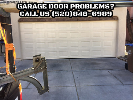 Time to replace garage door