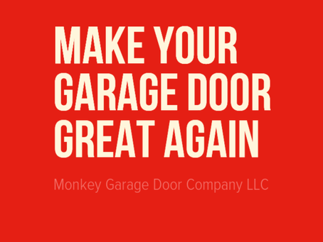 Make Your Garage Door Great Again