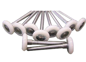 nylon with ball bearing rollers