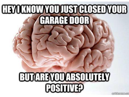 Did you leave your garage door open?
