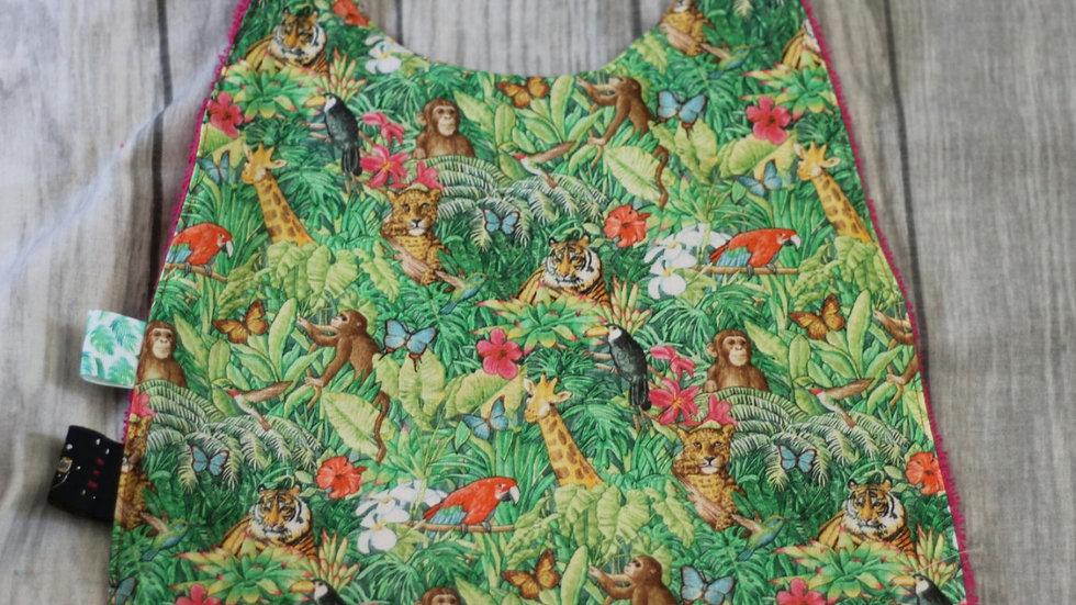 Serviette de cantine motif jungle