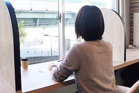 英会話カフェ 勉強ブース