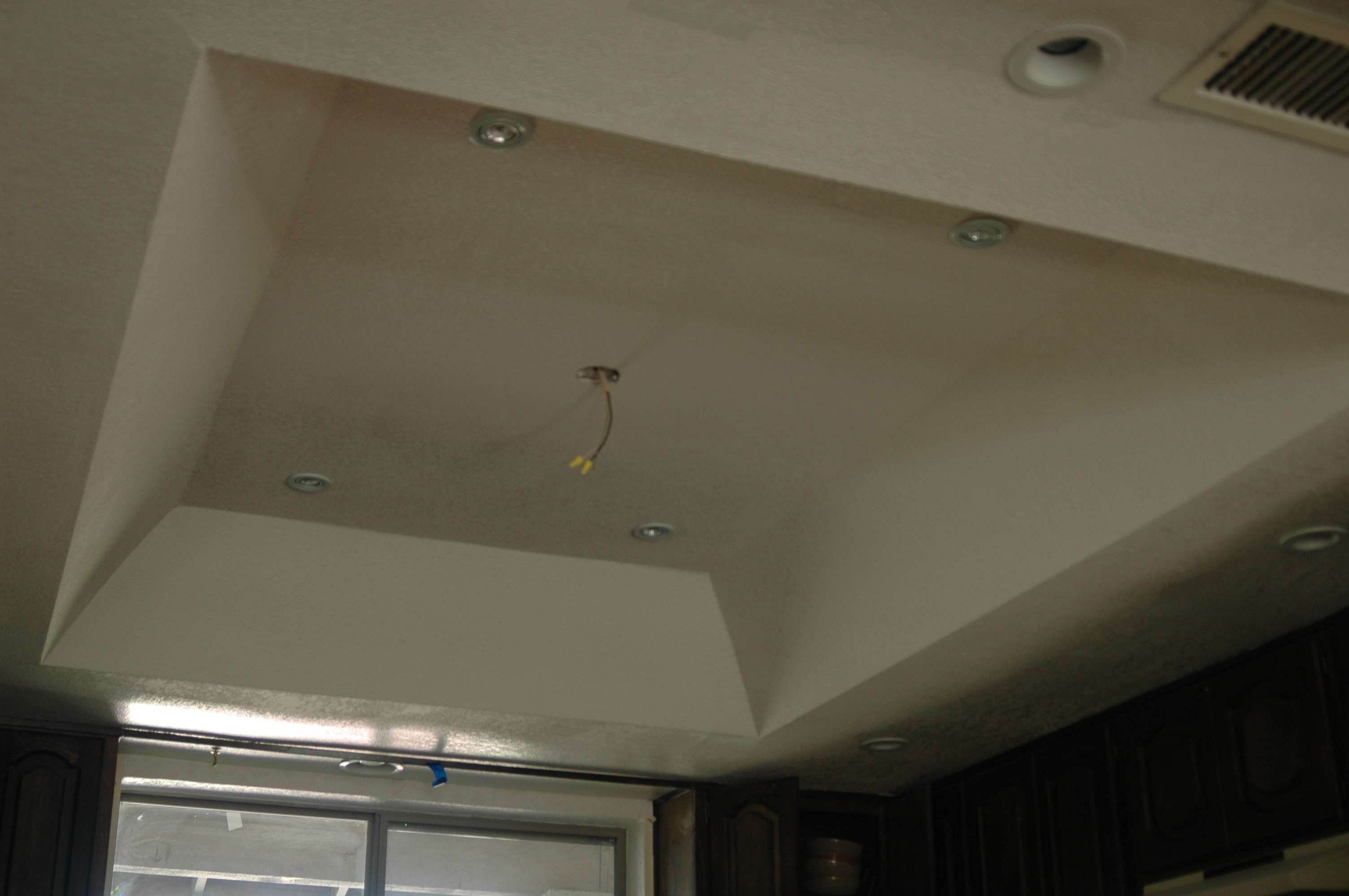 Kitchen Ceiling Box Out