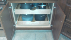 Shelf and drawer slides