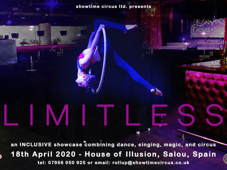 Limitless @ The House of IllusionCome to Salou and perform at The House Of Illusion!