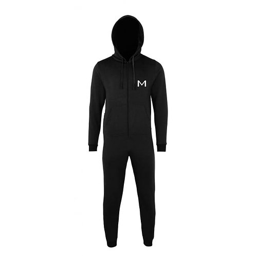 Boys Mainstage Onesie - Black