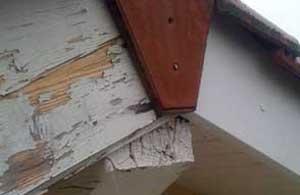 Habillage des débords de toit