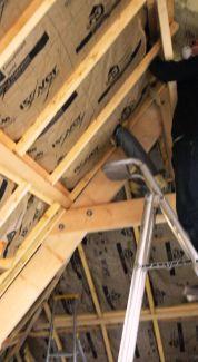 Isolation des combles amenageables par votre artisan Bastien Artisan à Narbonne, Carcassonne / 11 Aude