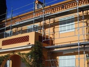 Renovation de facade par BS TOITURE Entreprise de Ravalement de Facade du Rhone & Isère, à Villeurbanne 69 et Grenay 38