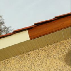 Habillage des sous toiture
