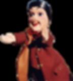Guignol, représentant de l'esprit et de la gastronomie lyonnaise, personnage du Vieux Lyon dont le musée se situe dans le quartier de Saint-Jean, à proximité de notre restaurant de Saint-Georges