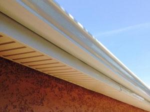 Habillage sous toiture en Alu ou PVC