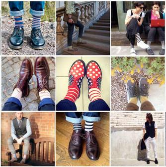 Nos chaussettes en live !