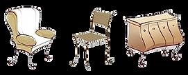 Atelier Artisan Tapissier Garnisseur Ébéniste pour la restauration des sièges et meubles anciens aLausanne, Pully,Échallens, Lutry,Payerne,Moudon,Montreux, Vevey,Morges…