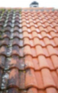 Entreprise Blondel Toiture - Nettoyage haute pression de toiture, demoussage des toits et terrasses