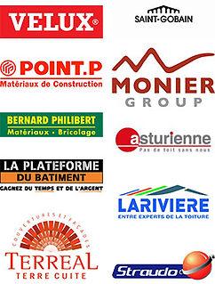 Partenaires de l'Entreprise Bequery maitre artisan couvreur zingueur en toiture à Aix en Provence Devis Gratuit