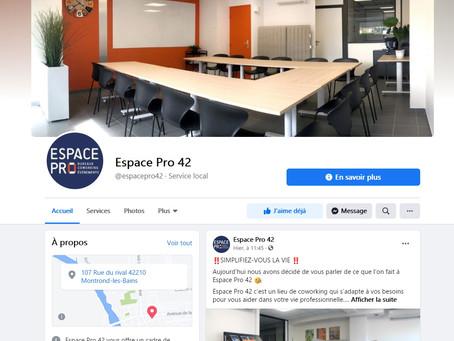 Espace Pro 42 est Maintenant sur Facebook : Suivez-nous !