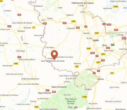 Saint Symphorien sur Coise, Monts du Lyonnais, à Lyon et dans le Rhone (69) et alentours