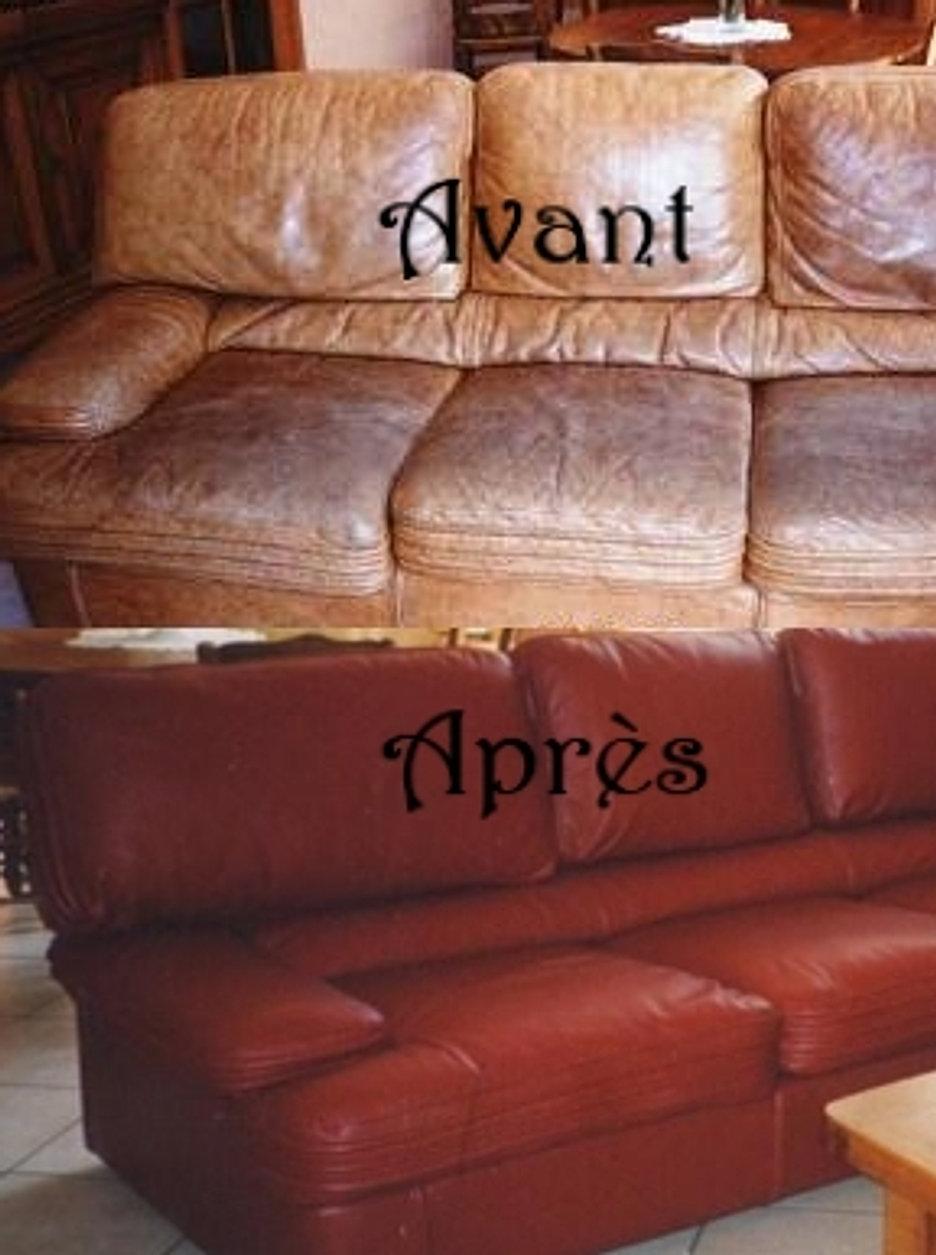 restauration r paration r novation et repigmentation des cuirs. Black Bedroom Furniture Sets. Home Design Ideas