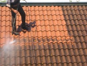 Nettoyage de toit par BS TOITURE Entreprise de Toiture du Rhone & Isère, à Villeurbanne 69 et Grenay 38