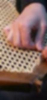 Travail de cannage et rempaillage par votre artisan canneur rempailleur / Lyon Rhone