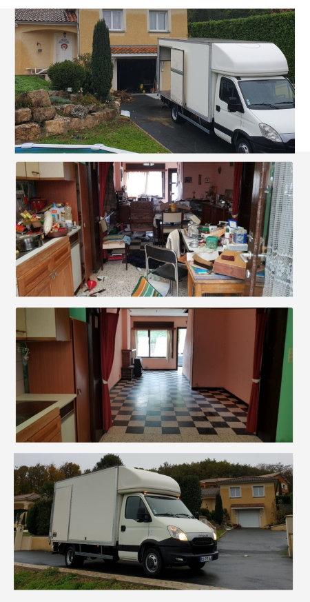 Faites vider et debarrasser maison et appartement sur la région, Rhone Ain Isère Savoie Haute-Savoie Loire  Drome Ardèche, à Lyon, Grenoble, Villeurbanne, Annecy, Chambéry, Saint-Étienne