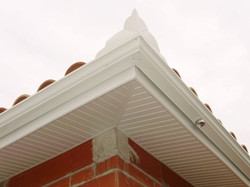 Habillage sous toiture Alu ou PVC