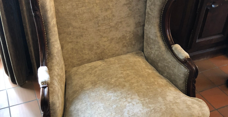 Réfection d'un ancien fauteuil