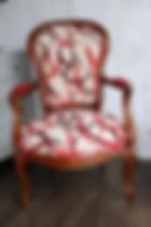 tapisserie d'ameublement rhone Fauteuils style louis philippe