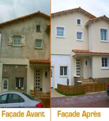 BS Renovation Artisan Facadier du Rhone & Isère, à Villeurbanne 69 et Grenay 38
