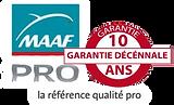MAFF Pro Garantie Decennale de vos travaux de toiture de votre artisan en toiture couvreur zingueur à Aix en Provence