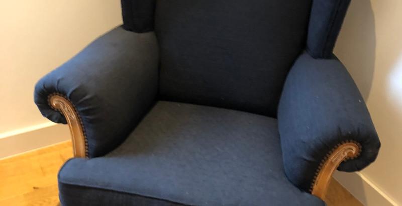 Réfection d'un fauteuil