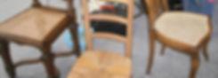 Cannage et Rempaillage de Chaise, Canneur Rempailleur au Luxembourg