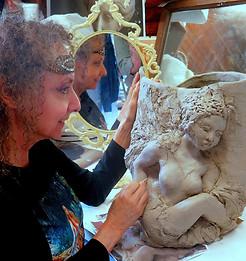 Sculpting Swan Lake Ballerina