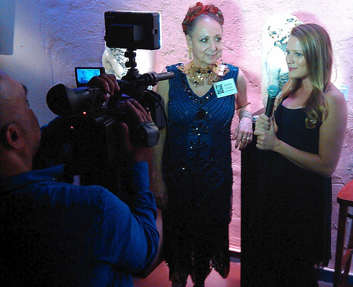 NEW YORK FASHION WEEK TV INTERVIEW with JUDITH UNGER  Sept 2017