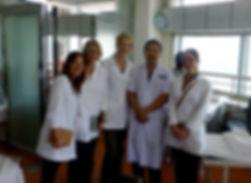 Studying at Heilongjiang Hospital in China