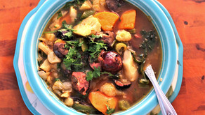 Inna's Savory Winter Soup with Beef Stock (VIDEO)