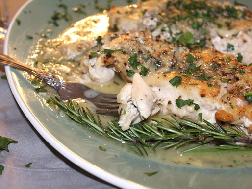 Chicken Provencal with White Pan Sauce (VIDEO)