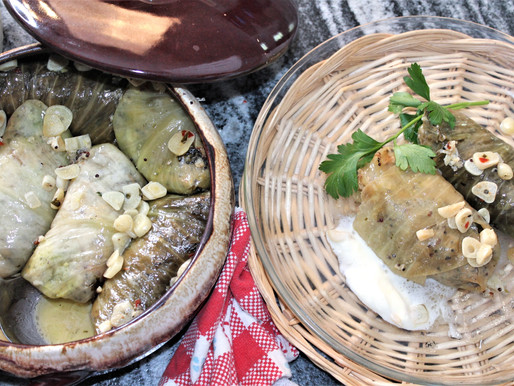 Fermented Stuffed Cabbage Leaf Rolls with Chicken and Quinoa (VIDEO)