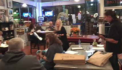 Our Sip N' Strum at The Iron Depot Winery