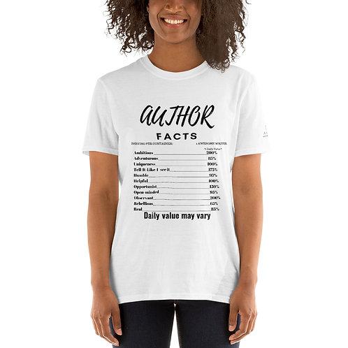 Author FACTS Short-Sleeve Unisex T-Shirt