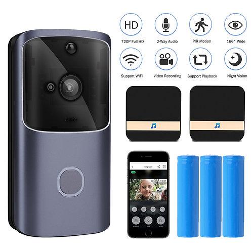 WIFI Doorbell Smart Home Wireless Phone Door Bell Camera Security Video Intercom