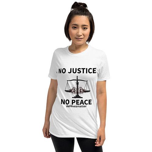 No Justice Short-Sleeve Unisex T-Shirt