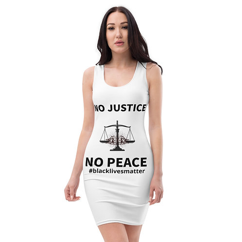 No Justice SEXY Gear Sublimation Cut & Sew Dress